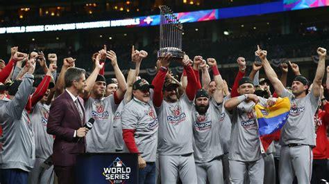 nationals win world series  stunning comeback