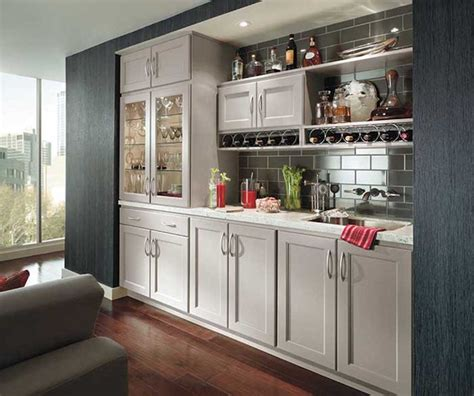 homecrest cabinetry transitional home bar san diego
