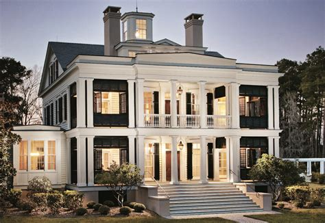 A Greek Revival Home With Southern Charm