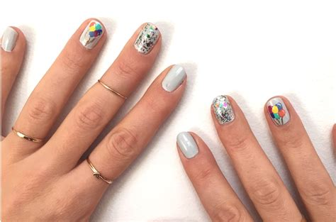 Nail Art Diy : A Cute Birthday Nail Art Diy