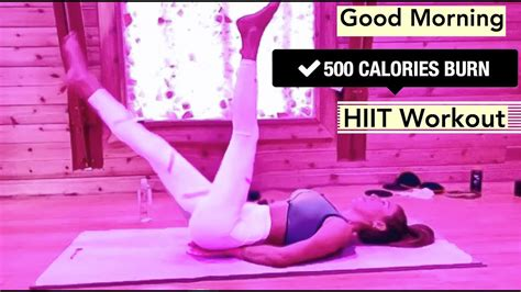 500 CALORIE BURNING HIIT WORKOUT - arms, legs & abs //3min ...