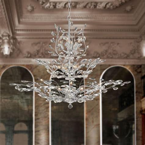 w83152c41 aspen 18 light chrome finish crystal tree three