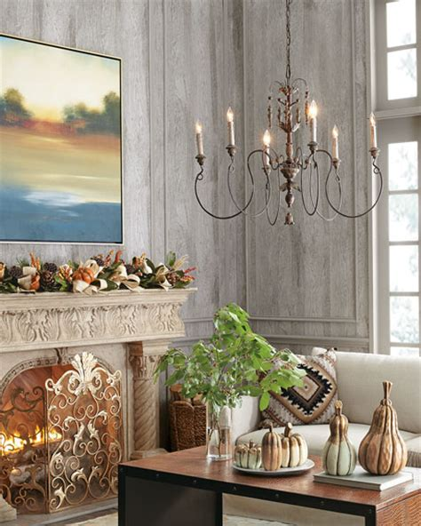 Salento Vintage Copper Light Chandelier