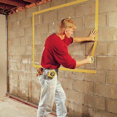 install basement windows  satisfy egress codes  family handyman