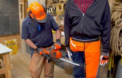 Why to Wear Chainsaw Safety Gear   This Old House