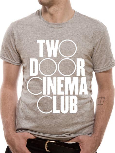 two door cinema club logo t shirt tm shop