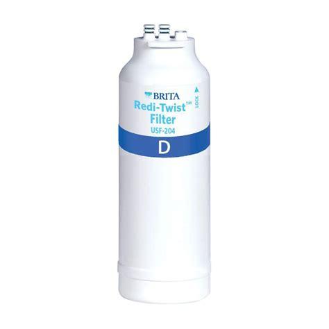 brita under sink water filter brita redi twist microbiological filter cartridge wfusf