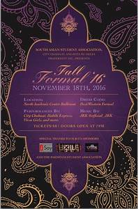 South Asian Student Association - Fall Formal Tickets in ...