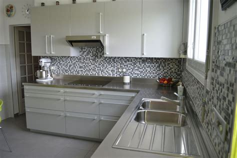 plan de travail cuisine inox pas cher plan de travail inox cuisine photo chambre et blanc