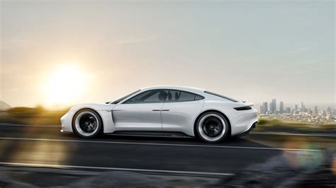 Porsche's Mission E Concept Car Electrifies Frankfurt