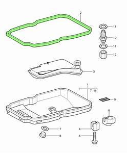 Porsche 996 997 Tiptronic Gearbox Oil Pan Gasket 1402710080