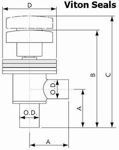 Tube End Manual Right Angle Valve  U2013 Apex Vacuum