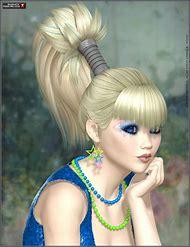 Hair Flip Ponytail