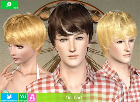 The Sims 3 Casual Hairstyle 165 Carl By New Sea
