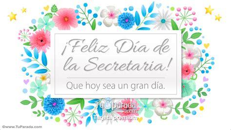 Tarjeta para el día de la secretaria - Día de la ...