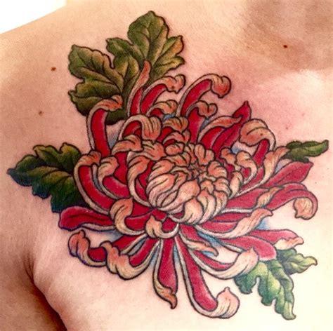 ideas  chrysanthemum tattoo  pinterest