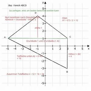 Ionisierungsenergie Berechnen : fl cheninhalt fl cheninhalt berechnen vierecke oder dreiecke mathelounge ~ Themetempest.com Abrechnung