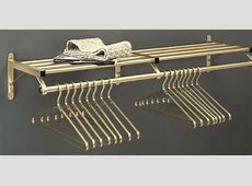 Glaro, Satin Brass Wall Coat Racks and Coat Hangers