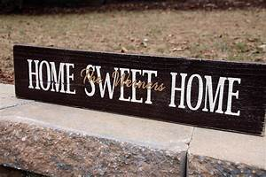 Hand-crafted Painted Wood Signs Signs by Andrea