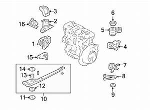 Ford Escape Support  Mount  Engine