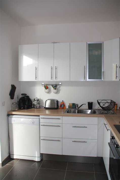 photos cuisine blanche cuisine blanche bois et inox photo 3 6 3509191