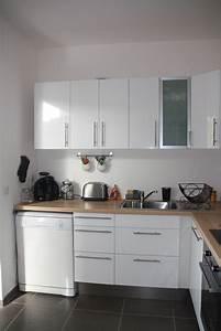 Cuisine Blanche Et Bois Ikea : cuisine blanche bois et inox photo 3 6 3509191 ~ Dailycaller-alerts.com Idées de Décoration