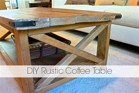 diy rustic coffee table plans diy rustic coffee table home design makeover ideas on Diy Rustic Coffee Table Plans