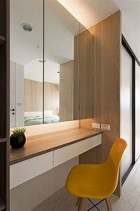 Minimalist, Vanity, In, Bedroom