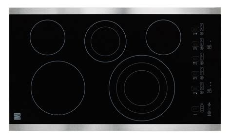 kenmore electric cooktop kenmore elite electric cooktop style and performance at sears