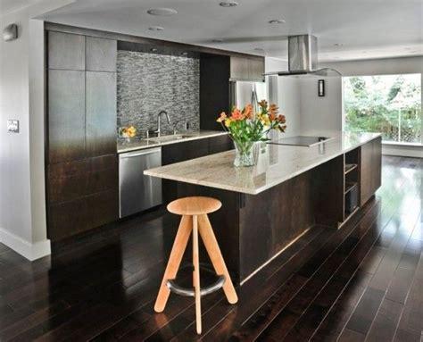 dark kitchen cabinets  dark hardwood floors kitchen