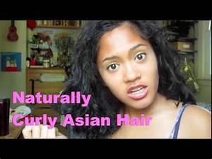 Growing up with Naturally Curly Asian Hair - YouTube