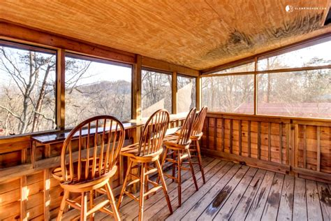 secluded cabin  pigeon forge tennessee