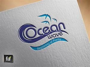 ocean wave logo fa technologies With fa technologies