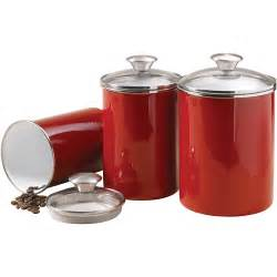 what to put in kitchen canisters tramontina 3 covered porcelain canister set walmart
