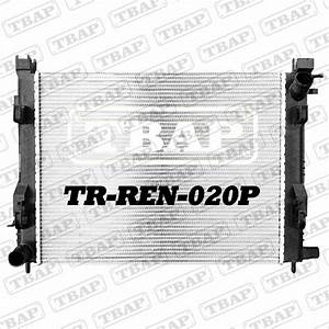 Radiator For Renault Captur 0 9l 1 2l Petrol    1 5l Diesel