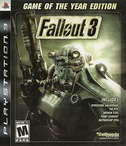 BLUS30451 Fallout 3 Game Of The Year Edition