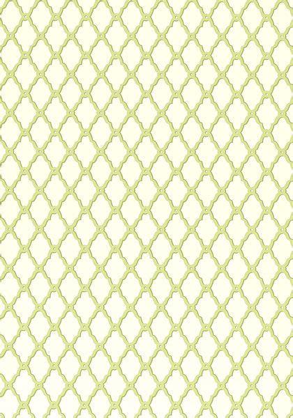 rothbury trellis green  collection geometric
