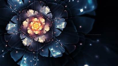 Deviantart Fractal Abstract Digital Flowers Wallpapers Desktop