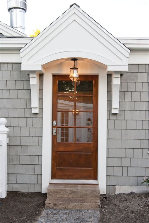 exterior paint color driftwood gray by cabot house door overhang grey exterior doors