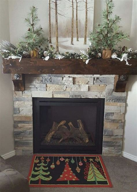 Buy Fireplace Mantel Shelf - fireplace mantel floating beam rustic barn wood salvaged