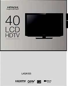 Hitachi L40a105 User Manual