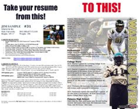 lacrosse resume sports resumes recruiting flyers