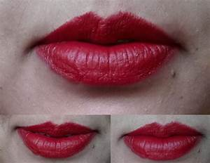 mac lipstick swatches on lips mac russian red swatch on ...