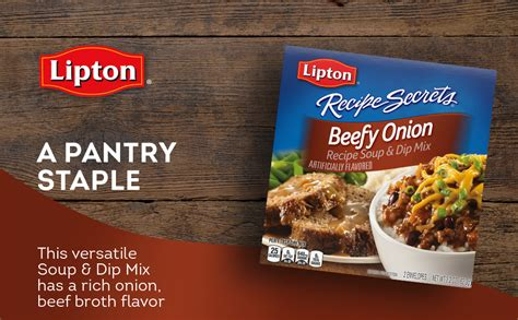 That was the fancy version, but otherwise we made onion dip with lipton soup mix and sour cream. Beef Stew Made With Lipton Onion Soup Mix : Crock Pot Onion Soup Mix Beef Stew Pams Daily Dish ...