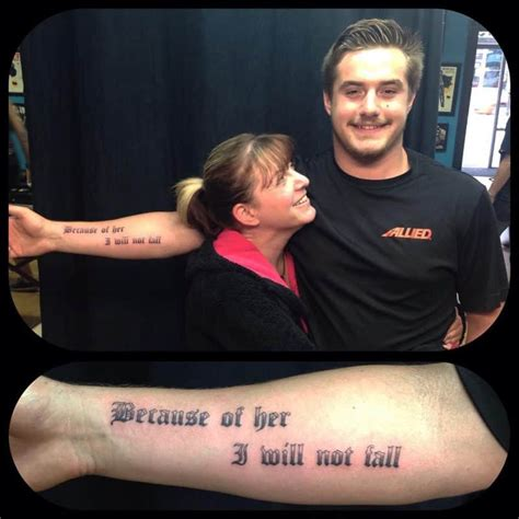 Mother Son Tattoos Immortalize One The Most Special
