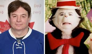 the cat in the hat mike myers mike myers is a nightmare to work with says cat in the hat