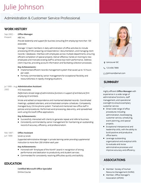 It Cv Template by Cv Layout Exles Design Tips To Get You Hired This Year
