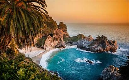 California Usa Mcway Falls 2880 1800 Wallpapers