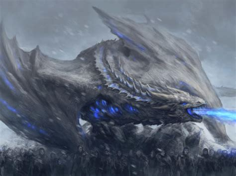 white walkers dragon game  thrones wallpaper hd movies