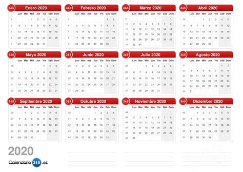 plantilla word calendario
